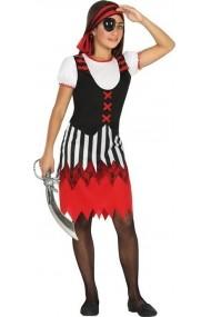 Costumatie Pirat Fete 7-9 ani