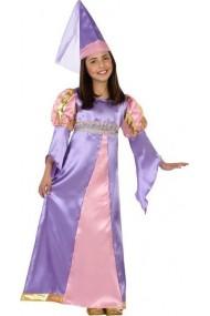 Costum Printesa Medievala 7-9 ani
