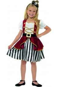 Costum Deluxe Pirat fetite 7-9 ani