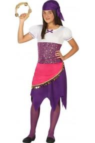 Costum Gypsy Girl Fetite 7-9 Ani 130-145 cm
