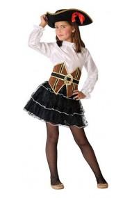 Costum Pirat Fete 7-9 Ani