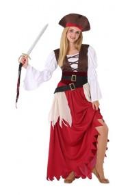 Costumatie Pirat Fete Marime Universala Adolescenti