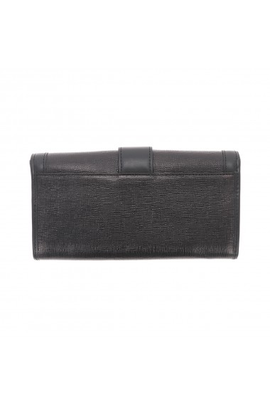 Portofel negru din piele naturala Tony Bellucci model T605