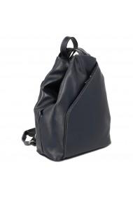 Rucsac/geanta din piele naturala moale bleumarin model 133