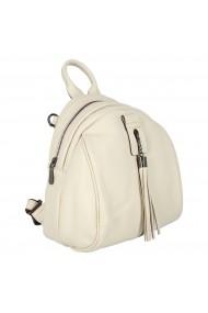 Rucsac/geanta de dama din piele naturala bej 175
