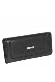 Portofel piele naturala de dama model clasic negru Tony Belucci model T614