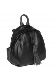Rucsac/geanta de dama din piele naturala neagra 175