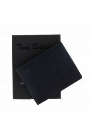 Portofel slim din piele bleumarin Tony Bellucci pentru barbati model T138-03