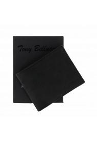 Portofel din piele neagra Tony Bellucci pentru barbati model T139-01