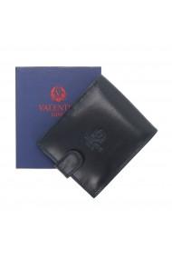 Portofel din piele bleumarin inchis Valentini pentru barbati model 298
