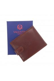 Portofel din piele moale maro Valentini pentru barbati model 561