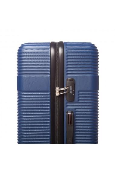 Troler mediu UPTOWN albastru 67 cm
