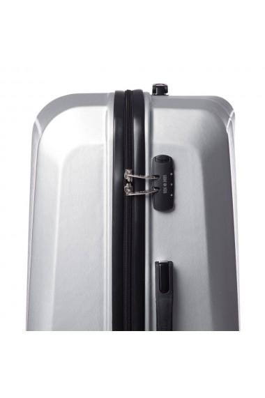 Troler mare SWANK argintiu 76 cm