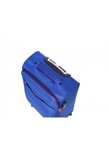 Troler mic LAVENDER albastru 55 cm