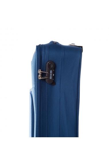 Troler mic HORIZON albastru 55 cm