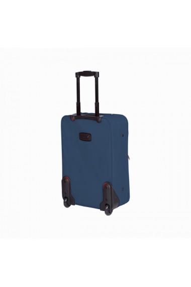 Troler mic ATLANTA albastru 55 cm