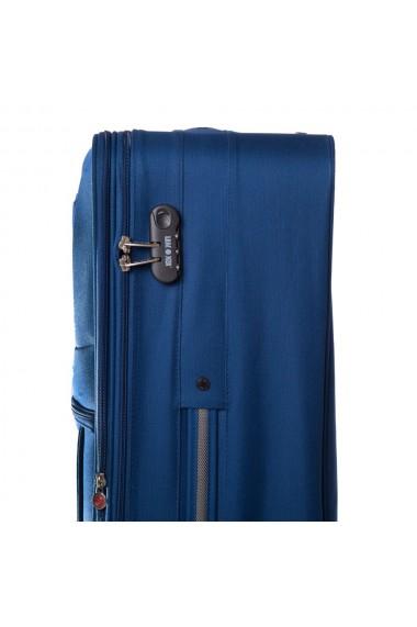 Troler mare ATLANTA albastru 74 cm