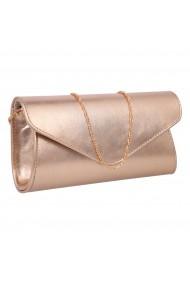 Plic elegant din piele naturala bronz fin model 08