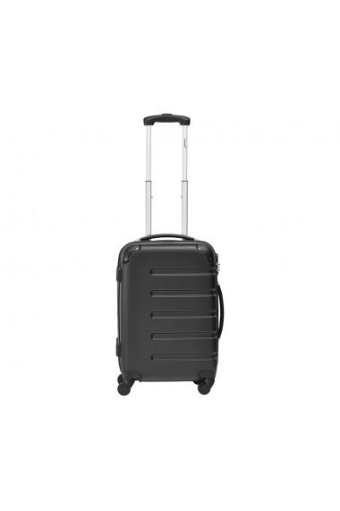 Troler mic Packenger Marina negru 55 cm