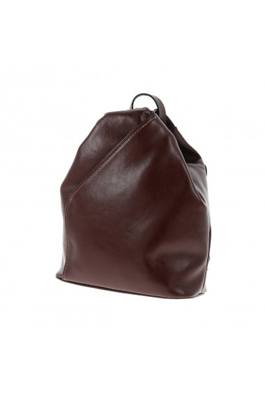 Rucsac/geanta din piele naturala maro coniac model 133