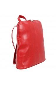 Rucsac/geanta casual piele moale rosie model 213