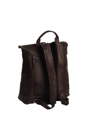 Rucsac The Chesterfield Brand din piele moale maro Dali
