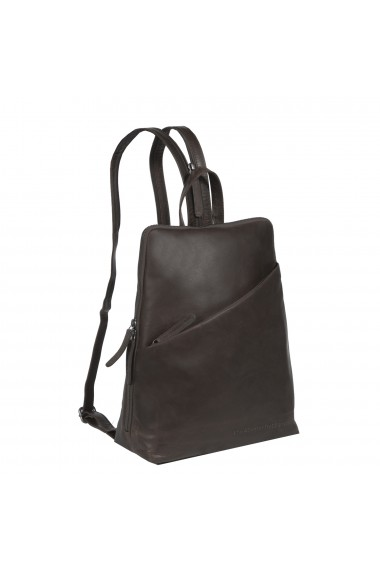 Rucsac The Chesterfield Brand din piele moale maro Amanda