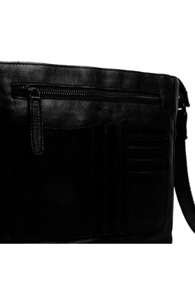 Geanta de umar The Chesterfield Brand din piele premium neagra Yaniek