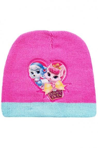 Set caciula cu manusi Disney-Palace Pets roz-bleu 2-12 ani accesorii imbracaminte copii