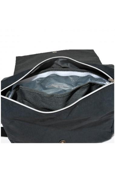 Geanta cu compartiment izoterm 19 litri casual/smart pentru birou/calatorii cu burduf Quasar