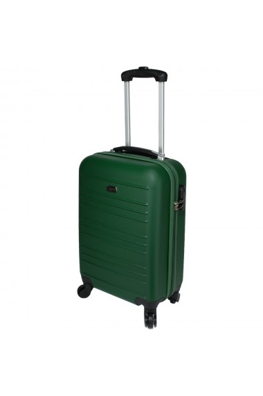 Troler cabina avion model Compatible Air Princess Traveller by Quasar&Co. 55 x 34 x 20 cm verde inchidere cifru