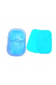 Dispozitiv cu foite de sapun 20 buc albastru