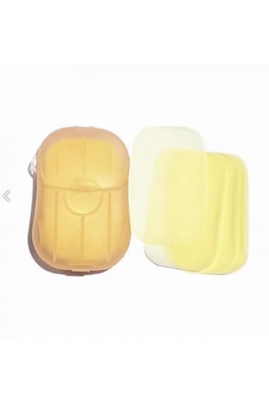 Dispozitiv cu foite de sapun 20 buc galben