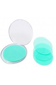 Set 100 bucati foite de sapun 50 dispozitiv + 50 rezerva Quasar & Co. parfum sea flower albastru