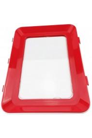 Caserola pentru conservarea alimentelor resigilabila 30 x 20 cm rosu