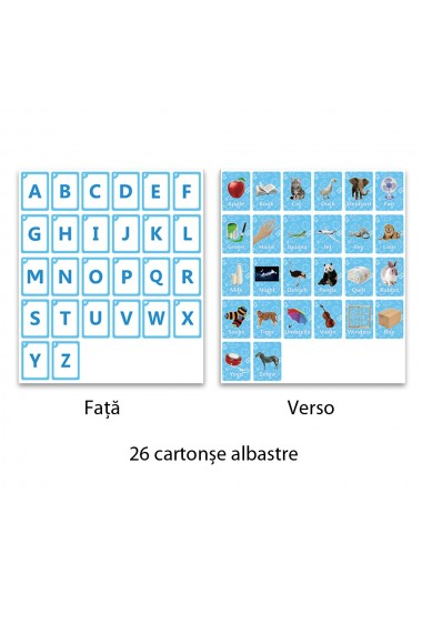 Joc interactiv pentru invatarea limbii engleze joc educativ pentru copii cu aplicatie telefon/tableta (vezi video in descriere) set de cartonase cu litere cuvinte stand telefon dispozitiv citire Phoni