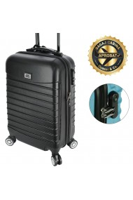 Troler cabina avion Model Compatible Air Quasar&Co. negru 55 x 36 x 20 cm