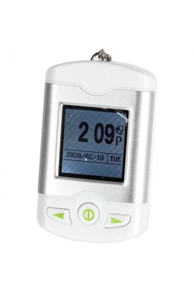 Breloc cu display functii ceas data alarma + cablu alimentare USB Quasar&Co
