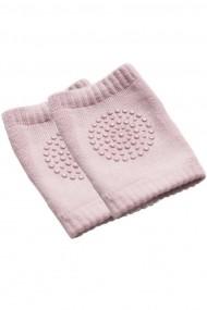 Genunchiere pentru bebelusi roz marime unica