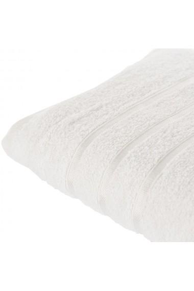 Set 2 prosoape Quasar & Co. 100% bumbac 50 x 90 / 70 x 140 cm alb