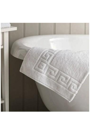 Prosop baie corp Quasar & Co. 70 x 140 cm 600 g/mp hotel quality 100% bumbac alb