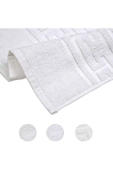 Set 5 prosoape hoteliere Quasar & Co. 2 x prosop fata 50 x 90 cm 2 x prosop corp corp 70 x 140 cm 1 x prosop picioare 50 x 70 cm 100% bumbac alb
