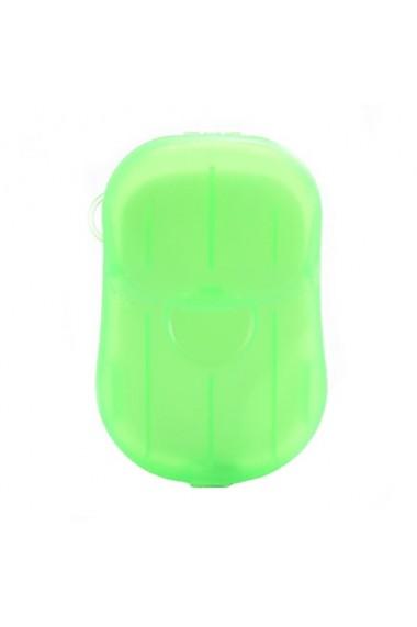 Set 6 dispozitive cu foite de sapun 120 foite multicolor