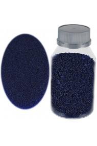 Perle sticla de decor sticla ornamentala cristale decorative Rasteli 250 g albastru inchis art. 1399.43