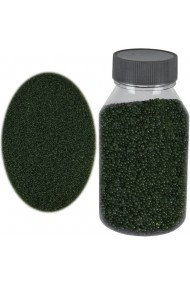 Perle sticla de decor sticla ornamentala cristale decorative Rasteli 250 g verde inchis art. 1392.96