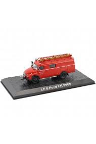 Macheta de colectie masina de pompieri LF 8 Ford FK 2500 rosu scara 1:72