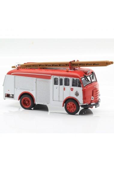 Macheta de colectie masina de pompieri Karrier Gamecock rosu scara 1:72