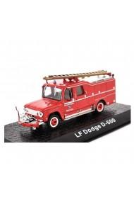 Macheta de colectie masina de pompieri LF Dodge D-500 rosu scara 1:72