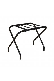 Suport pentru bagaje stand hotel pentru trolere pliabil Relaxdays metal 59.5 x 44 x 41 cm negru