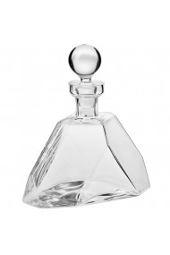 Carafa/decantor din sticla Krosno lucrat manual transparent 900 ml